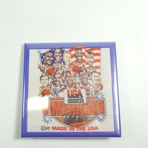 Other - America Basketball Button Made in USA